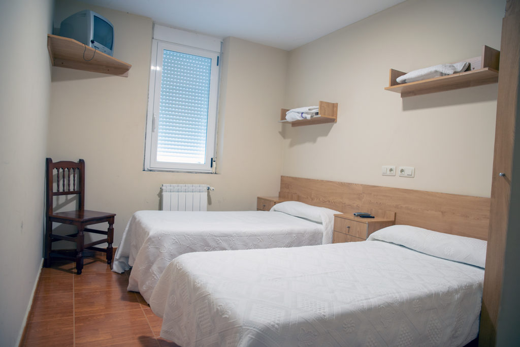 Habitación doble alojamientos
